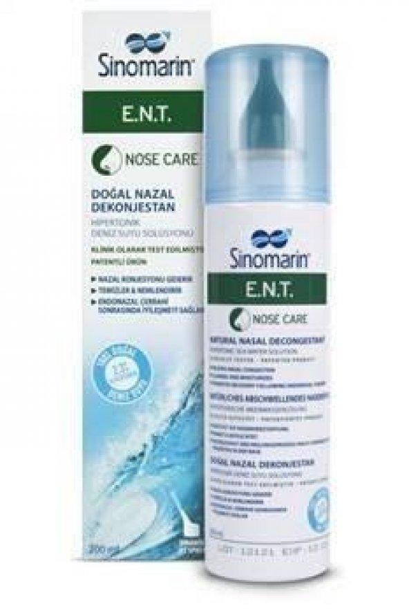 Sinomarin E.N.T. Deniz Suyu Spreyi 200 ml