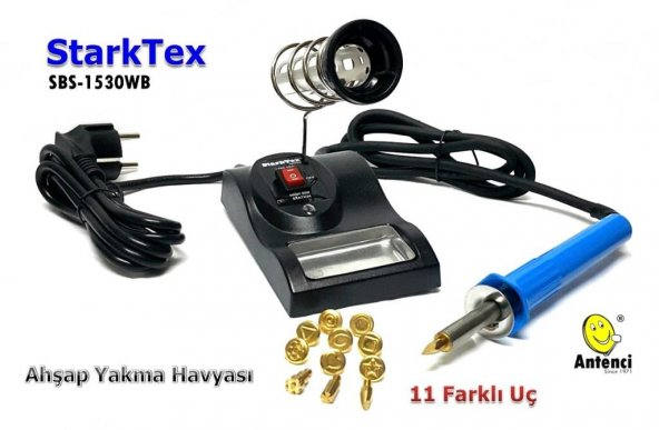 StarkTex SBS-1530WB Ahşap Yakma Havyası