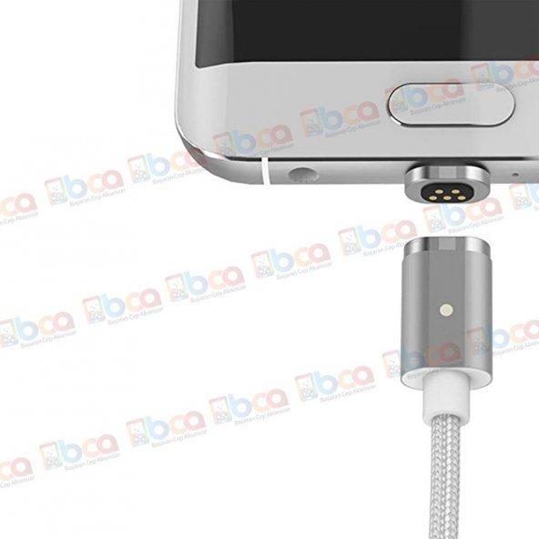 Asus Zenfone 4 Max Uyumlu Manyetik Mıknatıslı Şarj Kablosu