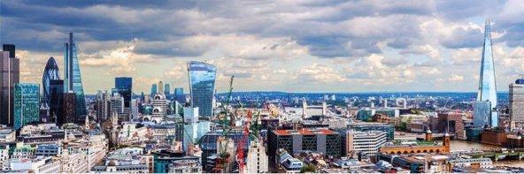 Dino Puzzle 1000 Parça Londradan Görünüm