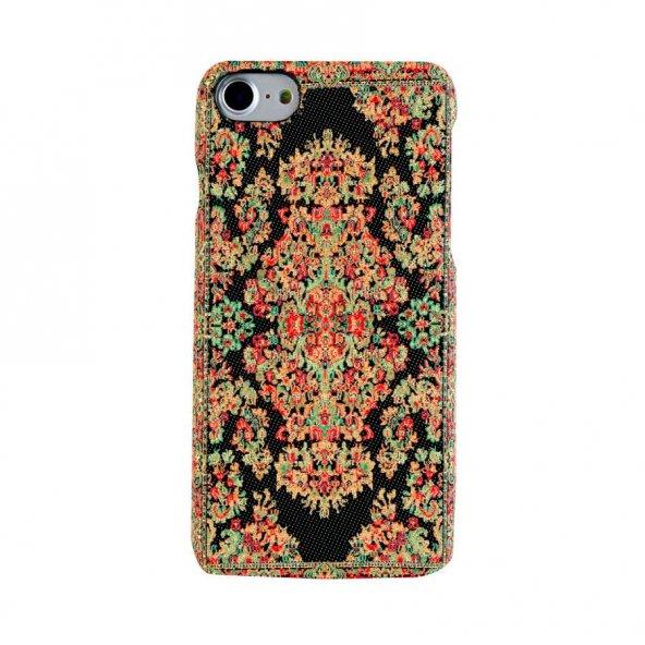 Wachikopa Apple iPhone 7 / 8 Kapak Bodrum El Yapımı Kilim Desenli