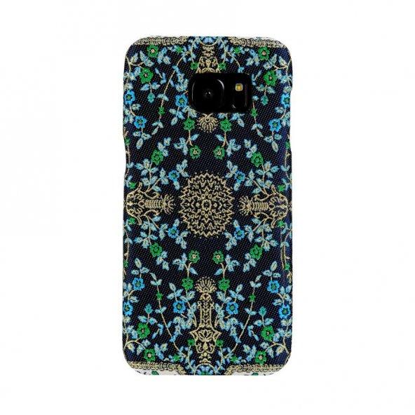 Wachikopa Samsung Galaxy S7 Kapak Breze El Yapımı Kilim Desenli K