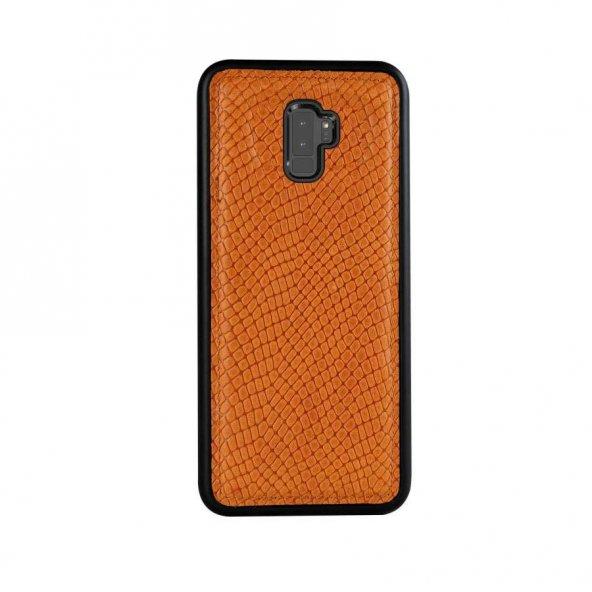 Wachikopa Samsung Galaxy S9 Plus Hakiki Deri Kapak Back Cover Ada