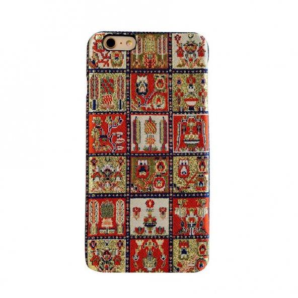 Wachikopa Apple iPhone 6 / 6S Plus Kapak Maria El Yapımı Kilim De