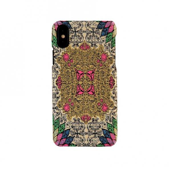 Wachikopa Apple iPhone X / XS Kapak Farsh El Yapımı Kilim Desenli
