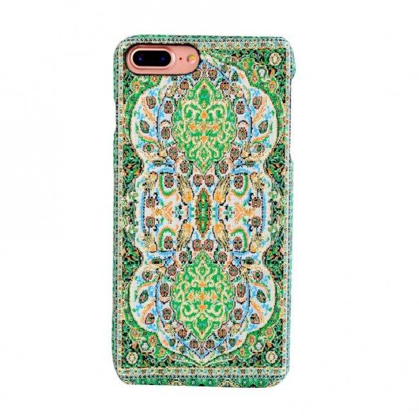 Wachikopa Apple iPhone 7 Plus / 8  Plus Kapak Verde El Yapımı Kil