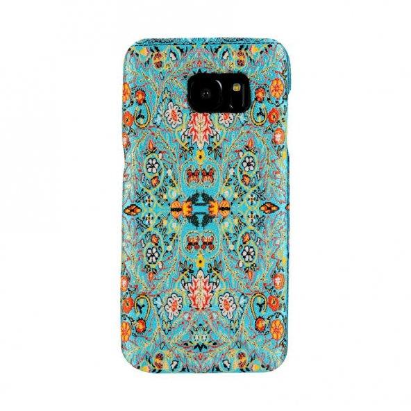 Wachikopa Samsung Galaxy S7 Edge Kapak Yenice El Yapımı Kilim Des