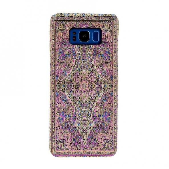 Wachikopa Samsung Galaxy S8 Kapak Galata El Yapımı Kilim Desenli