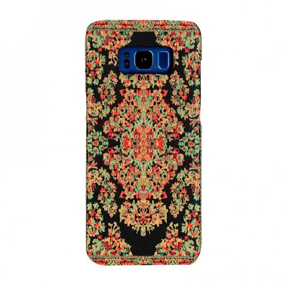 Wachikopa Samsung Galaxy S8 Plus Kapak Bodrum El Yapımı Kilim Des