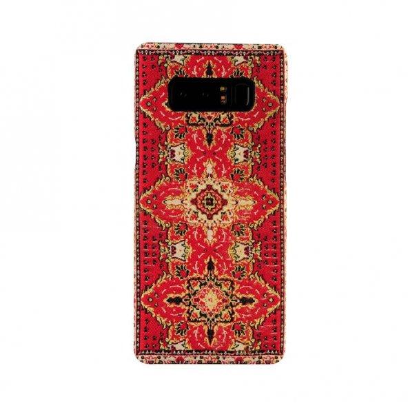 Wachikopa Samsung Galaxy Note 8 Kapak Sedir El Yapımı Kilim Desen
