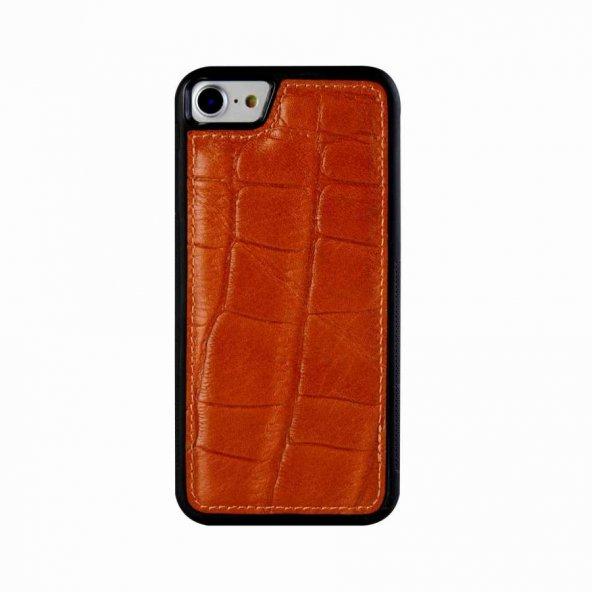 Wachikopa Apple iPhone 6 / 6S Hakiki Deri Kapak Back Cover Port T