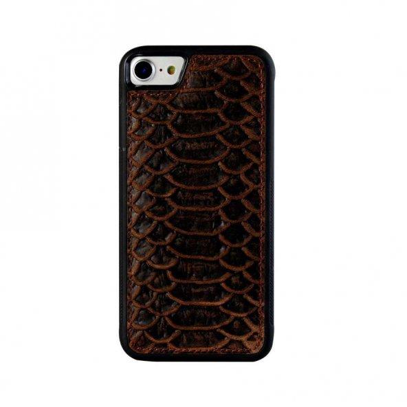 Wachikopa Apple iPhone 7 / 8 Hakiki Deri Kapak Back Cover Vera Ko