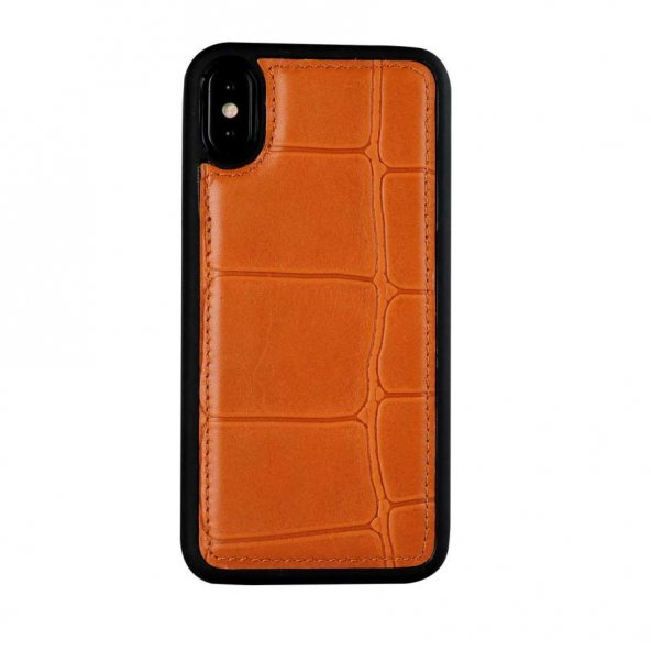 Wachikopa Apple iPhone X / XS Hakiki Deri Kapak Back Cover Port T