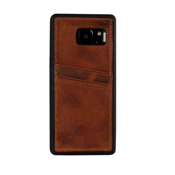 Wachikopa Samsung Galaxy S7 Edge Hakiki Deri Kapak Back Cover CC