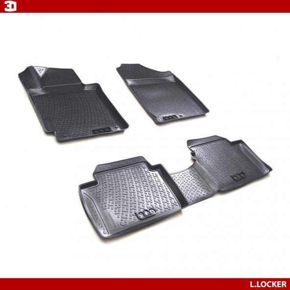 L.Locker Volkswagen T5-T6 3D Havuzlu Paspas