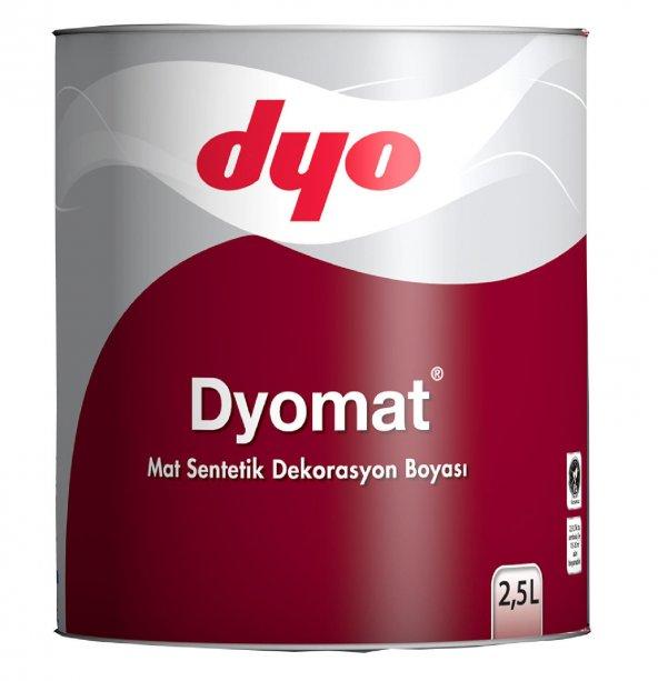Dyomat Mat Dekorasyon Boyası 2,5 Litre Siyah