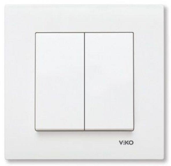Viko Karre Komütator - Beyaz (Çerçeve Hariç) 90967002