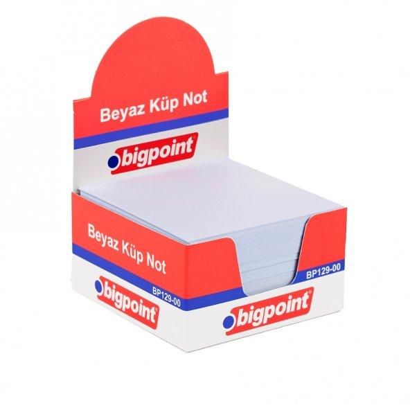 Bigpoint Küp Notluk Beyaz 8x8cm