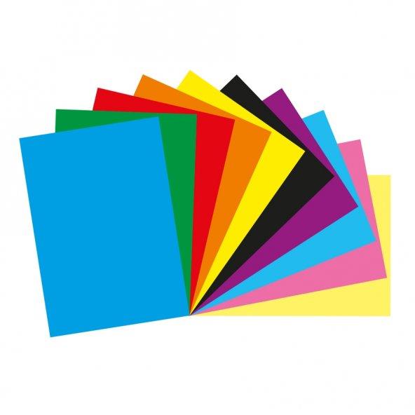 Bigpoint Fon Kartonu 35x50cm Karışık 10 Renk