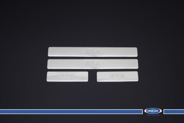 Hyundai Accent Era Kapı Eşiği Kromu 2005-2011 Omsa