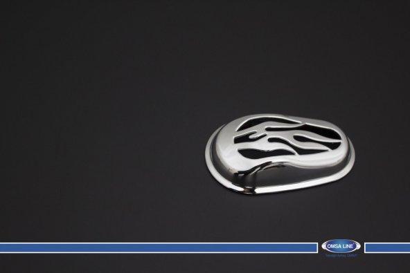 Ford Connect Sinyal Çerçevesi Abs Krom 2002-2014 Omsa