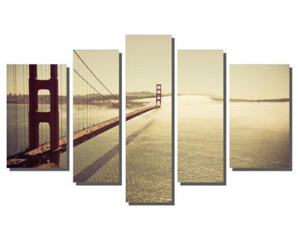 Köprü Şehir Manzara Tablosu