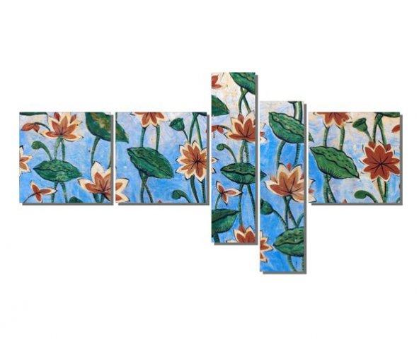 Turuncu Çiçekler 2 Tablosu