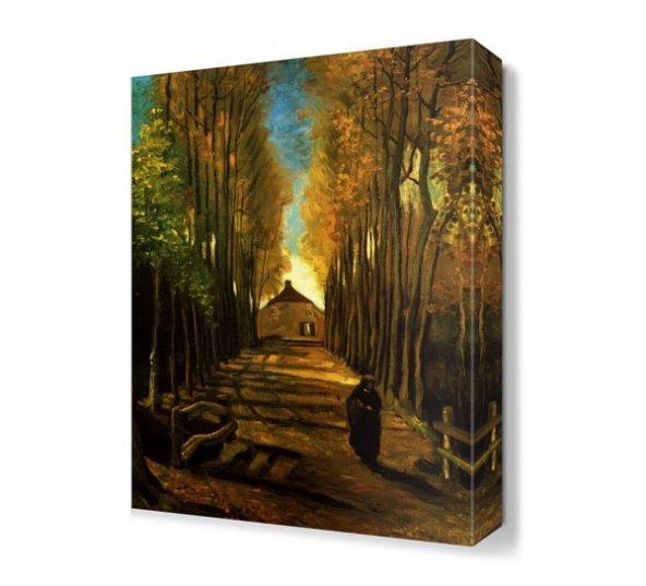 Vincent Van Gogh Issız Canvas Tablo
