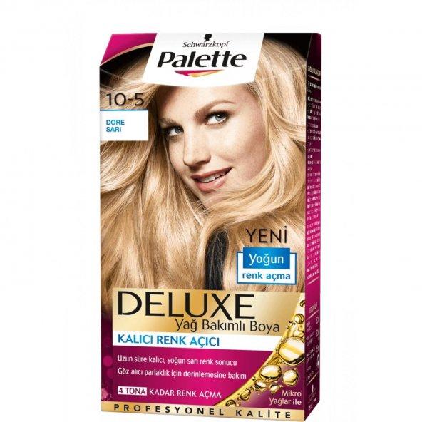 Palette Deluxe Saç Boyası 10.5 Dore Sarısı