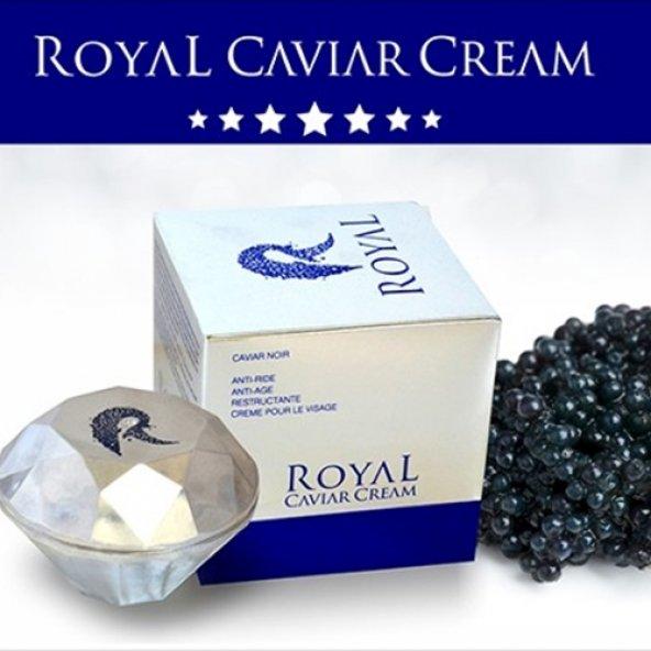 Royal Yaşlanma Karşıtı Siyah Havyar Kremi