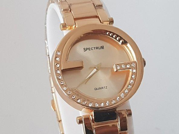 Yeni Model Metal Kordon SpectrumQuartz Kadın Kol Saati