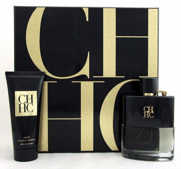 Carolina Herrera CH Men Prive EDT 100 Ml Erkek Parfüm Set