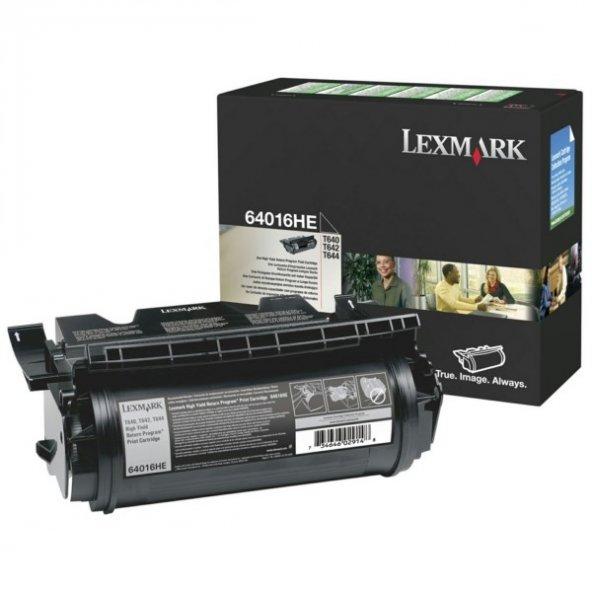 Lexmark 64016HE Orjinal Toner T640 / T642 / T644 (21.000 Sayfa)