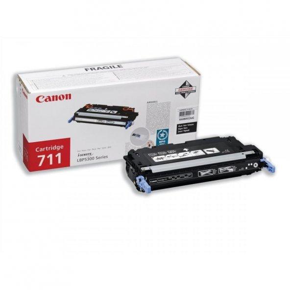 Canon CRG 711 Orjinal Siyah Toner 6.000 Sayfa