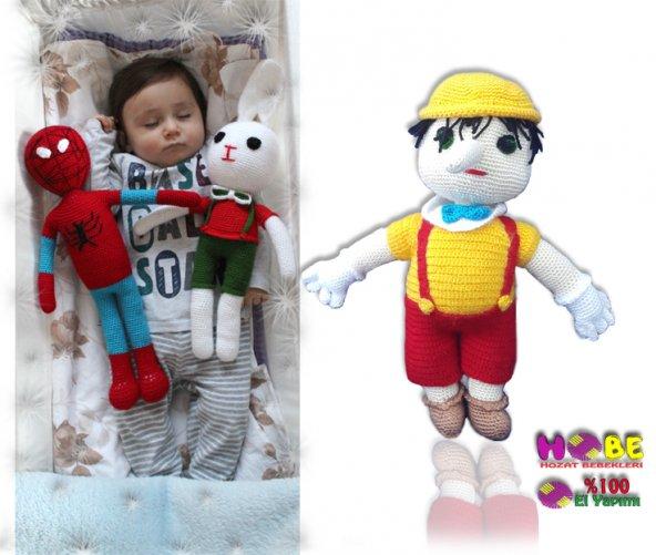 Pinokya Örgü Bebek