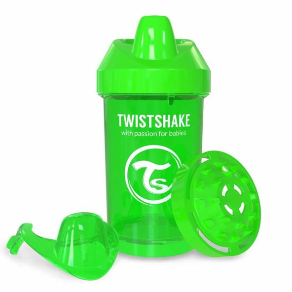 TwistShake TwistShake CrawlerCup 300ML Suluk 8+ YEŞİL YE300S