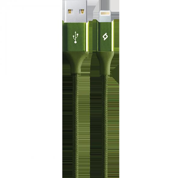 ttec AlumiCable iPh. Şarj Kablosu Haki Yeşili
