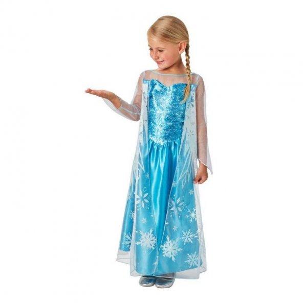 Disney Frozen Elsa Kostüm 7-8 Yaş