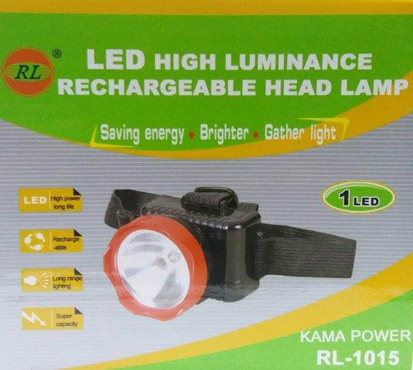 RL-1015 Şarjlı Kafa Feneri Projektör 1W