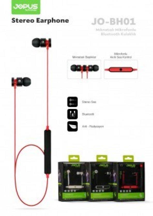 Bluetooth Kulaklık Mikrofonlu / JO-BH01