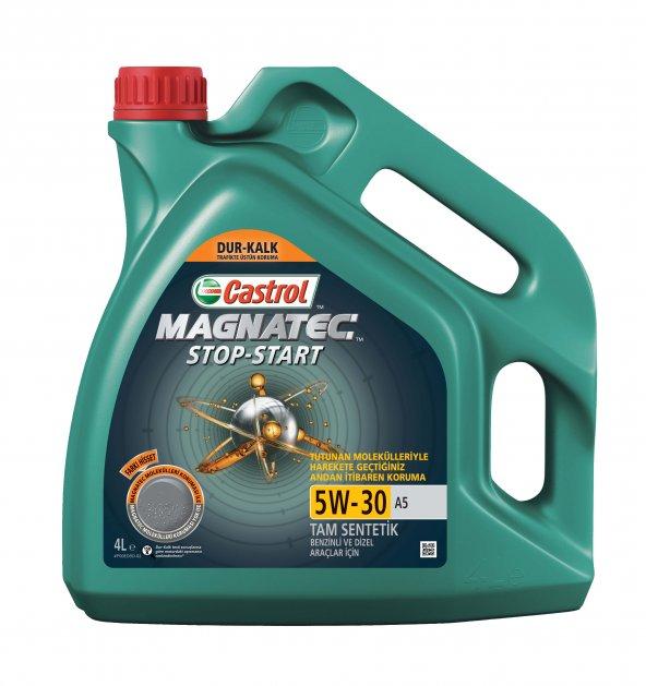 Castrol Magnatec Stop-Start 5w-30 A5 4 Litre Motor Yağı