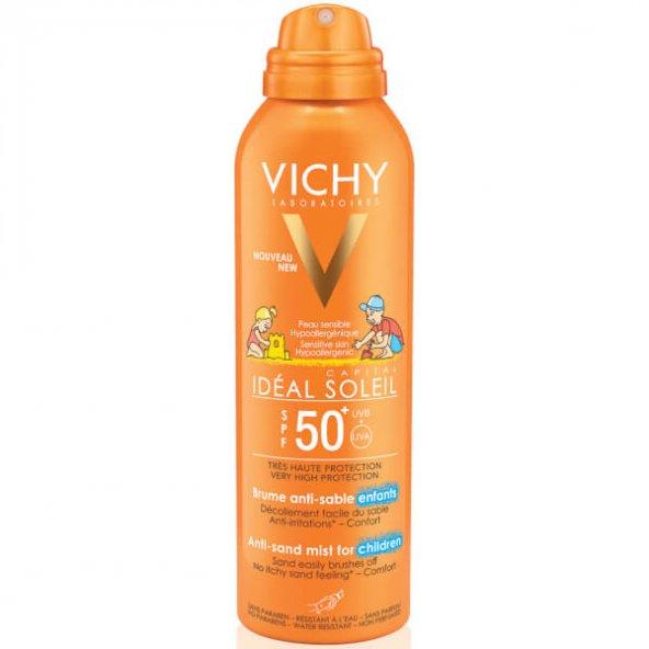 VICHY IDEAL SOLEIL ANTI-SAND MIST CHILDREN SPF50+ 200 ML-KUMUN C