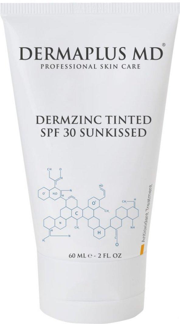 DERMAPLUS MD DERMAZINC TINTED SPF 30 SUNKISSED (ORTA TEN) 60 ML-