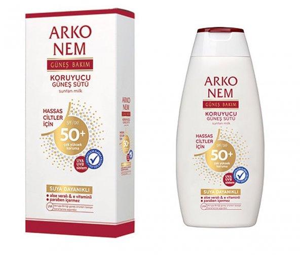 Arko Güneş Sütü 50+ Faktör Sprey 150ML Hassas
