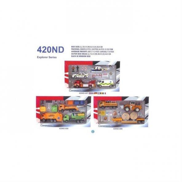 420nd Cararama 3 Model Macera Serisi