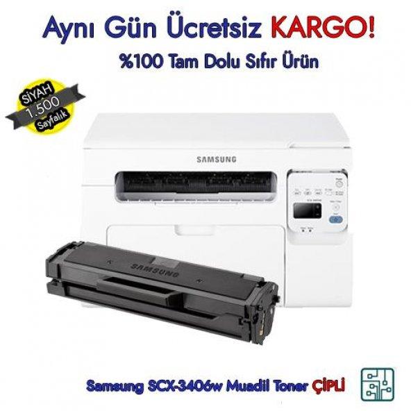 MLT-D101S / Samsung SCX-3406w Muadil Toner ÇİPLİ