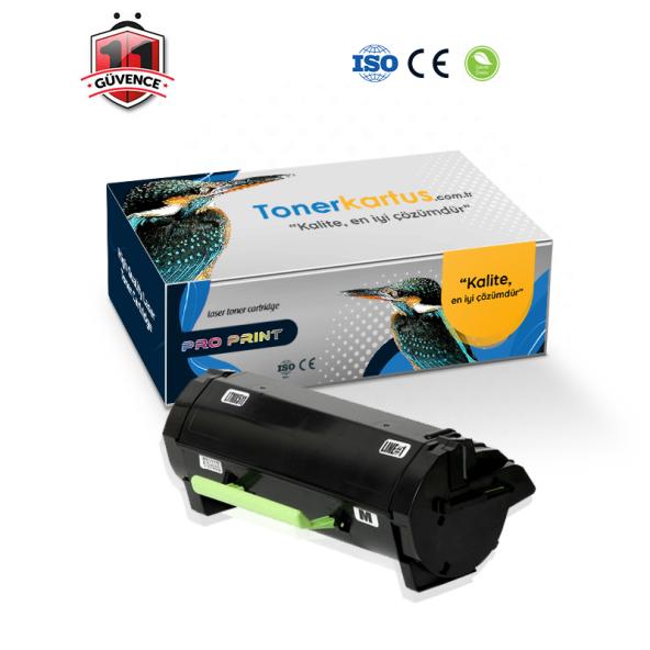 Lexmark MX610DE / 60F5H00 ( 605H ) Muadil Toner 10.000 Sayfa