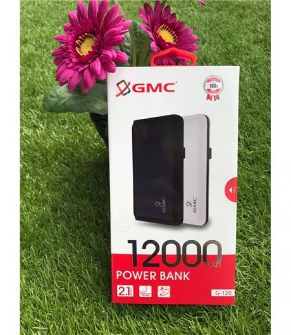 POWER BANK 12000 MAH GMC G-120 SİYAH
