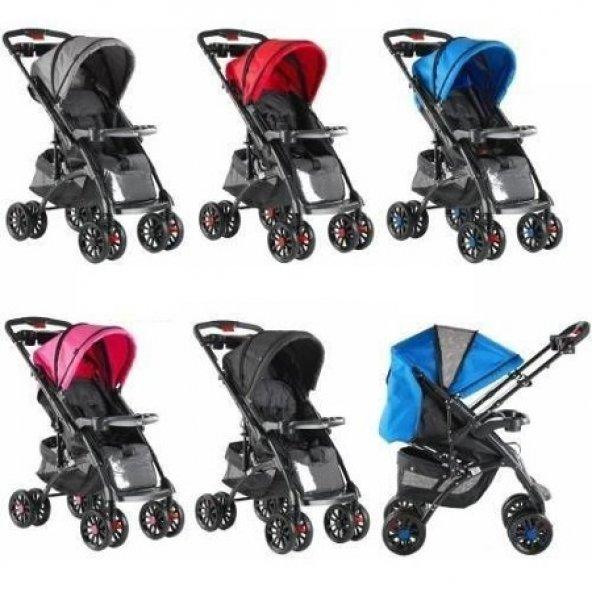 Babyhope 609 Çift Yönlü Alüminyum Bebek Arabası