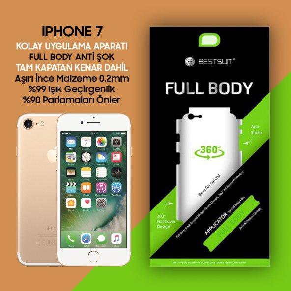 Bestsuit iPhone 7 Ön Arka Full Body 2in1 Tam Kapatan 3D Film